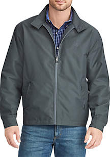 Big & Tall Twill Full-Zip Jacket
