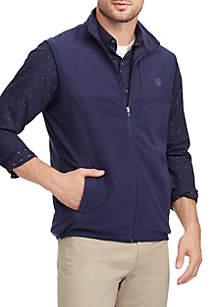 Big & Tall Fleece Mock Neck Vest