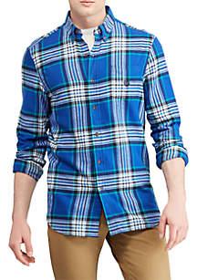 Big & Tall Plaid Performance Flannel Shirt