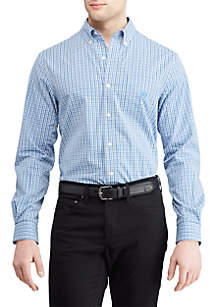 Big & Tall Long Sleeve Woven Shirt