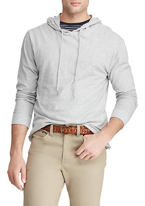 Big & Tall Long Sleeve Lightweight Popover Hoodie