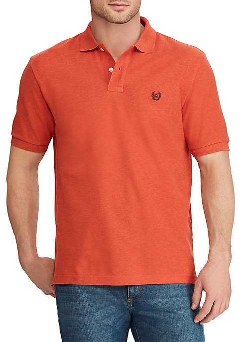Chaps Big & Tall Short Sleeve Cotton Polo