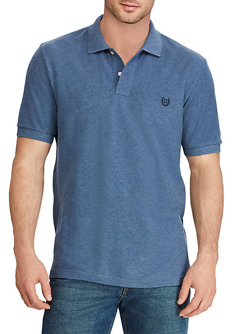 Chaps Big & Tall Cotton Short Sleeve Polo