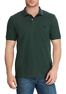 Big & Tall Cotton Short Sleeve Polo Shirt