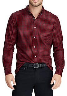 Big & Tall Cotton-Blend Shirt