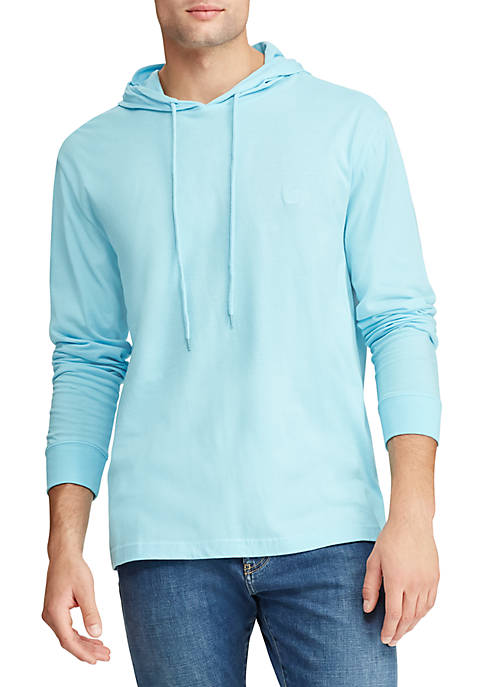 Chaps Big & Tall Long Sleeve Lightweight Popover