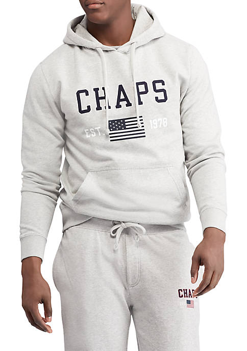 Chaps Big & Tall Heritage Collection Graphic Hoodie