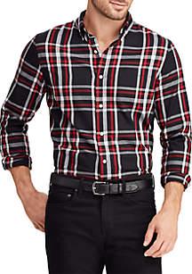 Big & Tall Cotton-Blend Shirt
