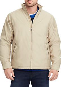 Big & Tall Full-Zip Mock Neck Jacket