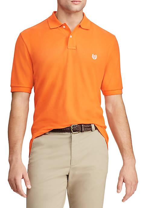 Chaps Big & Tall Short Sleeve Cotton Polo