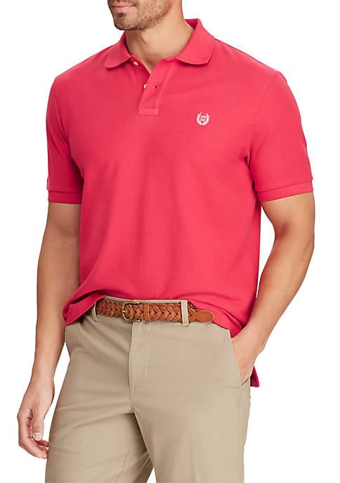 Big & Tall Red Pique Polo
