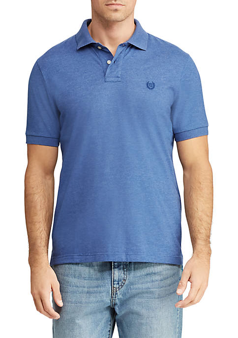 Chaps Big & Tall Cotton Mesh Polo Shirt