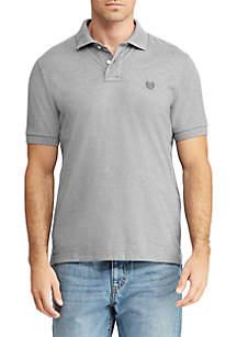 Big & Tall Cotton Mesh Polo Shirt