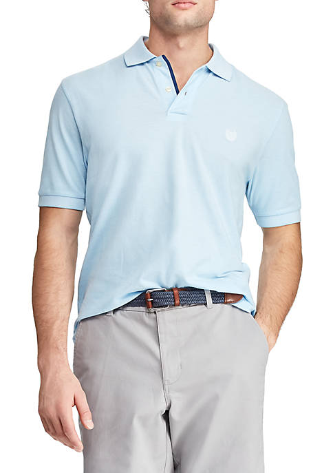 Big & Tall Birdseye Polo