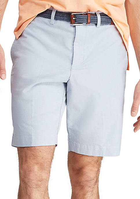 Chaps Big & Tall Stretch Oxford Short