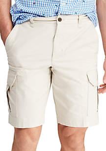Chaps Big & Tall Cotton Cargo Shorts