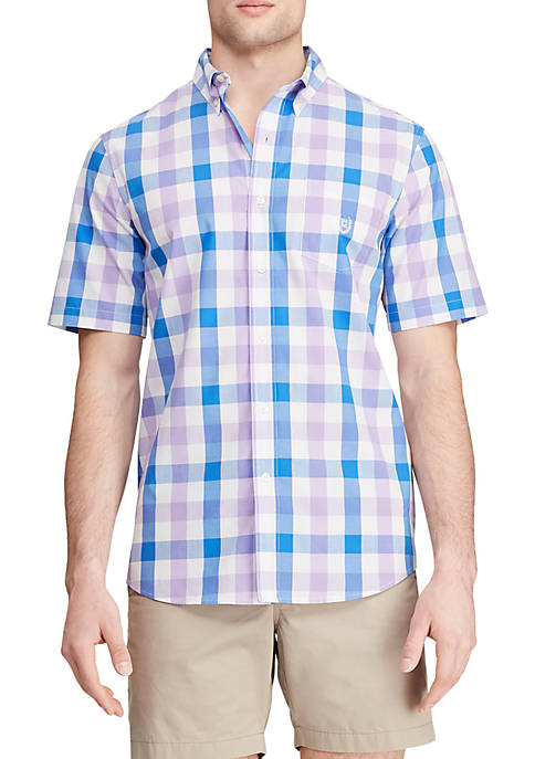 Chaps Big & Tall Short Sleeve Easy Care