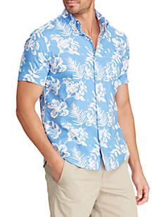 Shirts New 3xlt Chaps Mens Polo Shirt Royal Blue Short Sleeve 3xt 3x Tall Modern And Elegant In Fashion