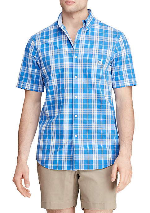 Chaps Big & Tall Easy Care Short Sleeve