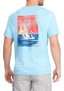 Chaps Big & Tall Short Sleeve Graphic T Shirt