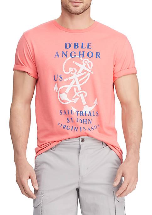 Big & Tall Short Sleeve Cotton Blend Graphic T-Shirt