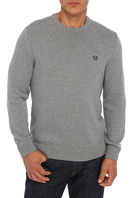 Big & Tall Long Sleeve Crew Neck Sweater