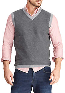 Chaps Big & Tall Sweater Vest