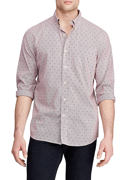 Big & Tall Easy Care Long Sleeve Button Down Shirt