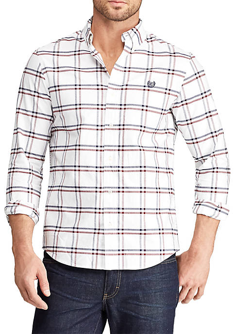 Chaps Big & Tall Long Sleeve Oxford Heritage