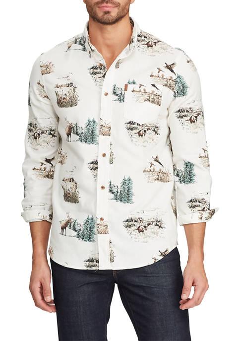 Big & Tall Go Untucked Flannel Shirt