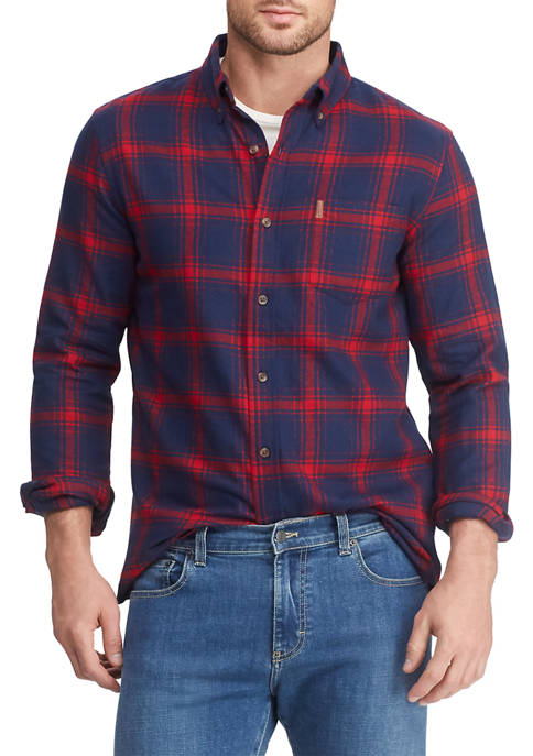 Big & Tall Go Untucked Flannel Shirt
