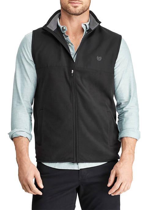 Big & Tall Fleece Full Zip Vest