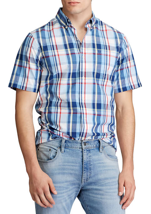 Chaps Big & Tall Performance Short Sleeve Easy