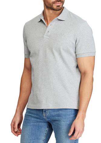 Chaps Big & Tall Classic Fit Interlock Polo Shirt