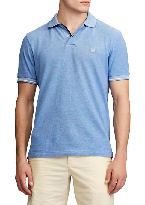 Chaps Big & Tall Birdseye Polo Shirt