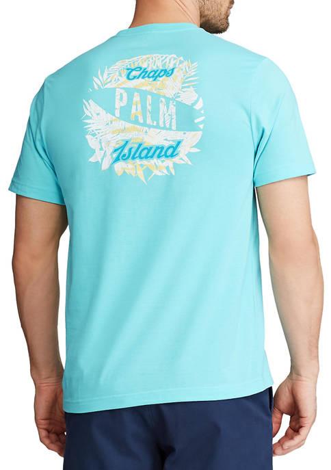 Chaps Big & Tall Short Sleeve Graphic T-Shirt