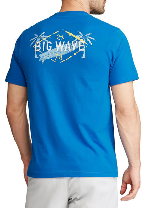 Chaps Big & Tall Short Sleeve Graphic T-Shirt