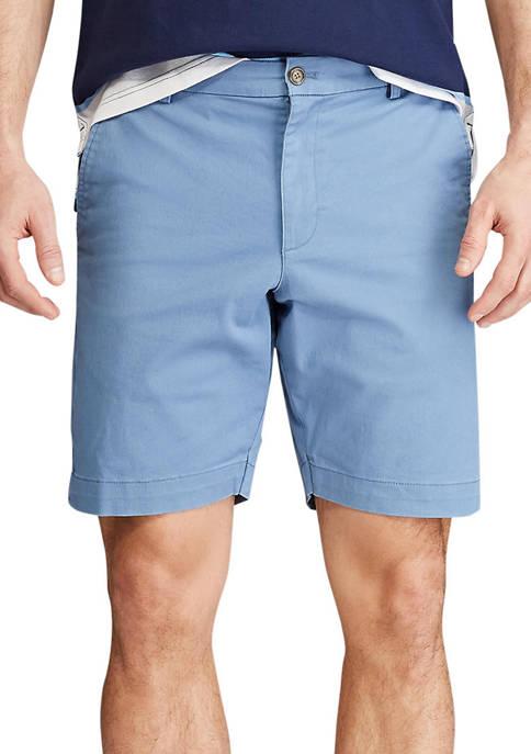 Chaps Coastland Stretch Twill Flat Front Short