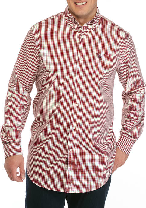 Chaps Big & Tall Long Sleeve Easy Care