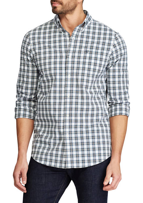 Chaps Big & Tall Easy Care Button Down