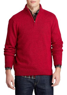 Chaps Mens Big Tall 1 4 Zip Sweater