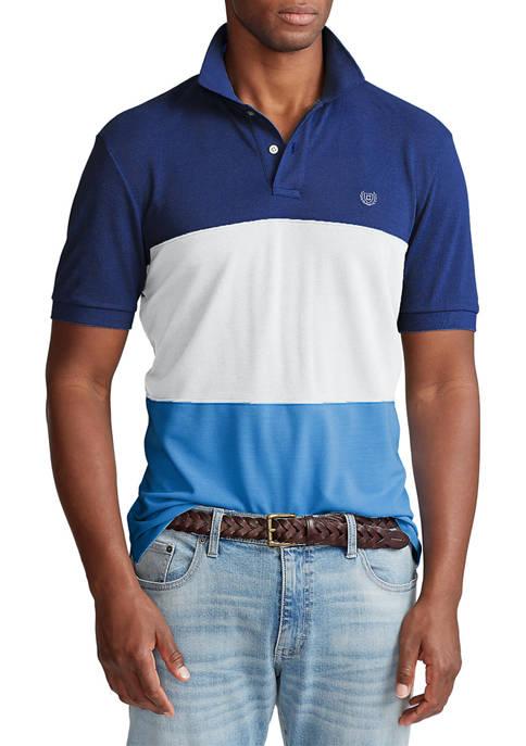 Chaps Big & Tall Classic-Fit World Polo Shirt