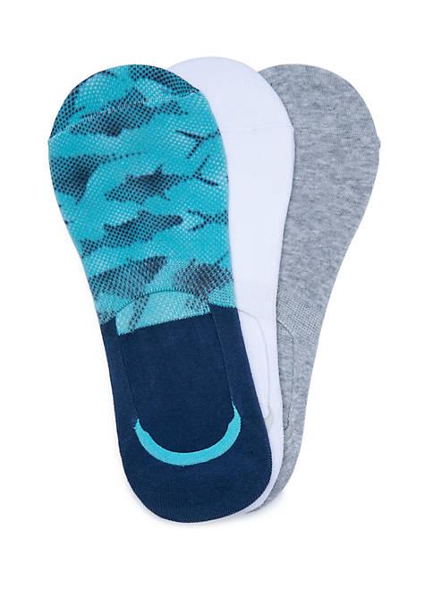 Set of 3 PFG Fish Print Shoe Liners