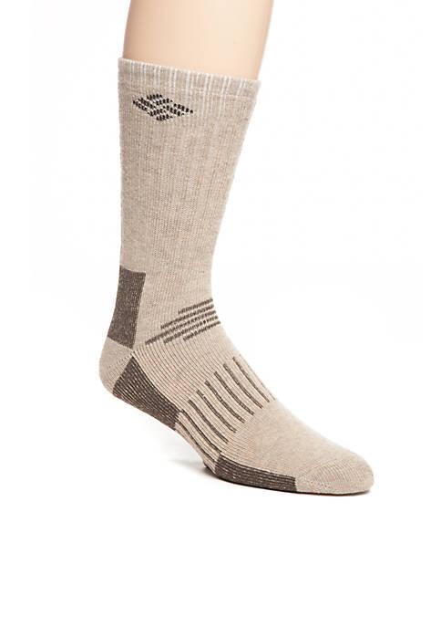 Wool Blend Boot Crew Socks 2-Pack