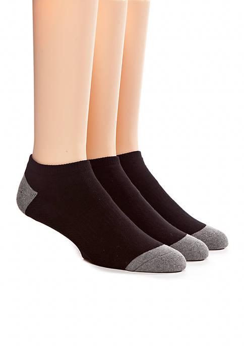 Columbia 3-Pack Half Cushion No Show Athletic Socks