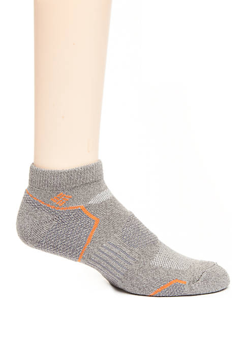 Columbia 2 Pack Balance Point Low Cut Socks