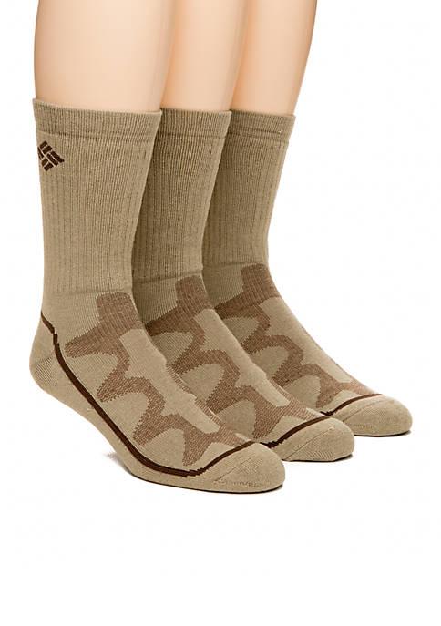 Columbia 3-Pack Mesh Tech Crew Socks