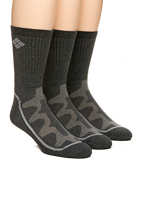 Columbia 3-Pack Mesh Tech Crew Socks