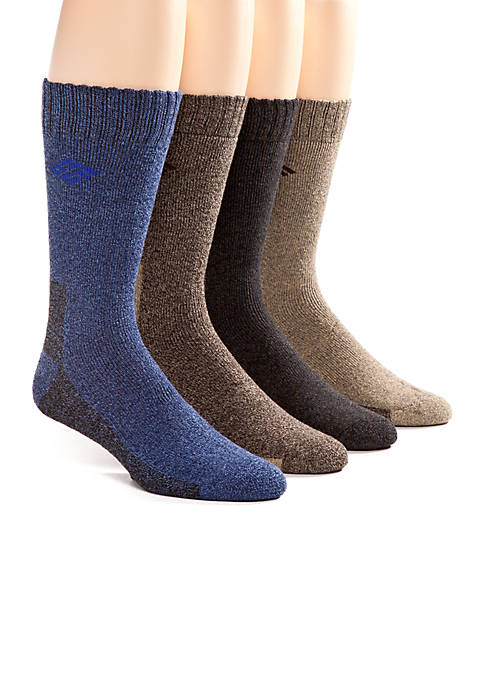 Columbia 4-Pack Crew Socks Gift Box