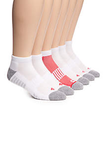 Athletic Low Cut Socks - 6 Pack